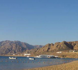 Aussicht vom Strand Jaz Dahabeya