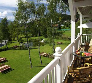 Gartenanlage Das Hotel Eden