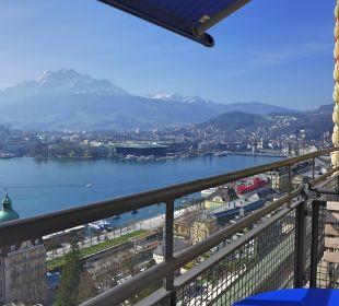 Ein toller Morgen Art Deco Hotel Montana Luzern