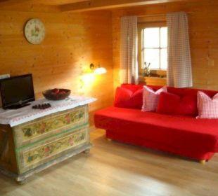Küchenzeile Appartement Almrausch Wörglerhof Alpbacher Hüttenappartements & Saunaalm