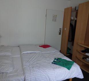 Unser Zimmer Hotel Zleep Hamburg City