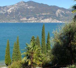 Blick vom Pool Hotel Residence Castelli