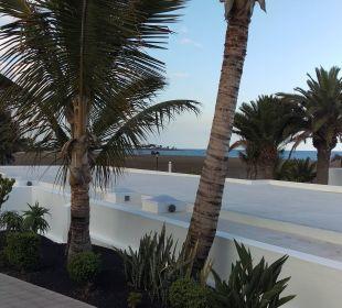 Ausblick von der Terasse Hotel Las Costas