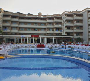 Vorbereitung Galaabend Linda Resort Hotel