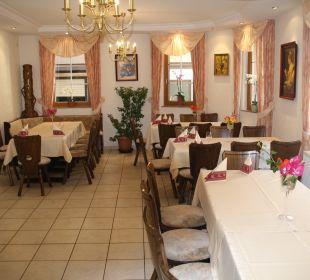 Frühstücksraum Gästehaus Derkum