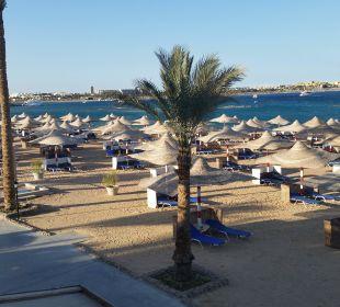 Vom Balkon zum Strand Hotel Iberotel Makadi Beach