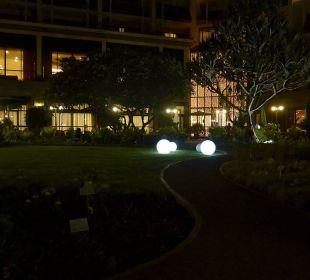 Abendstimmung im Garten Hotel The Cliff Bay (PortoBay)