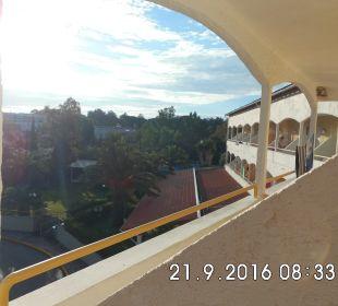 Außenansicht Hotel Livadi Nafsika