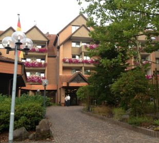 Eingang Hotel am Kurpark