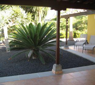 Terrasse  Villen Los Lomos