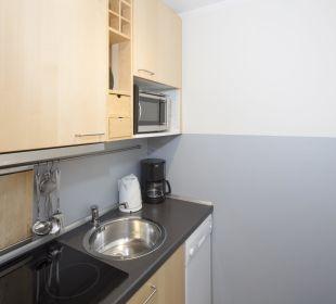Appartement Juwel (27 m2) Küche Angerer Familienappartements Tirol