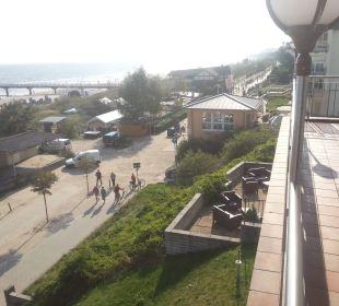 Blick vom Balkon Panorama Hotel Bansin