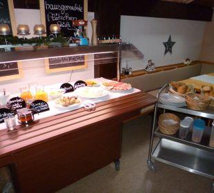 Frühstücksbüffet Pension Haus Hochstein