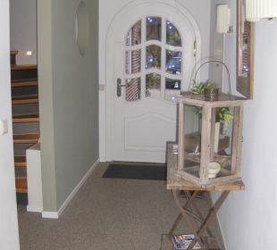 Eingangsbereich Hotel Long Island House Sylt