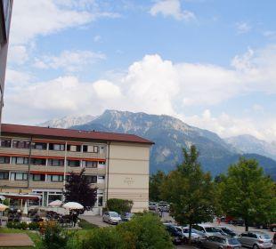Blick auf den Berg Iseler Die Gams Hotel - Resort