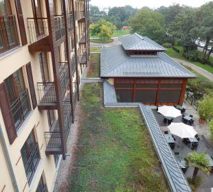 Blick aus unserem Zimmer Lindner Park-Hotel Hagenbeck