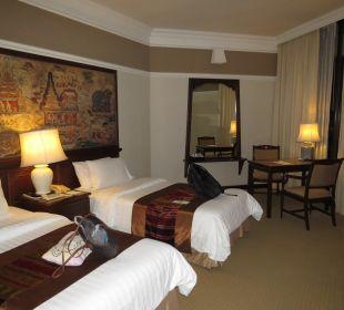 Schlafbereich Hotel Wiang Inn