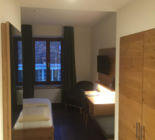 Zimmeransicht beim Betreten Griesbräu zu Murnau