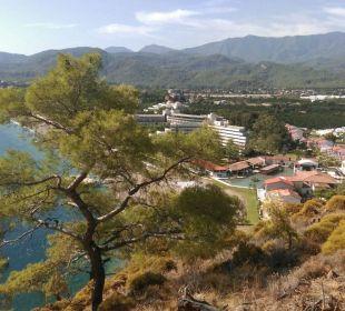 Von oben Hotel Rixos Premium Tekirova
