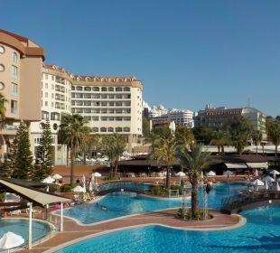 Pool im Arycanda Kirman Leodikya Resort
