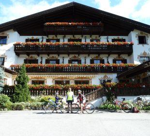 Partenza in mtb Hotel Hubertushof
