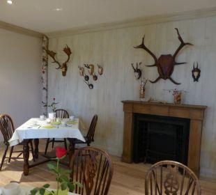 Frühstücksraum - geschmackvoll eingerichtet Hotel Forsthaus Damerow