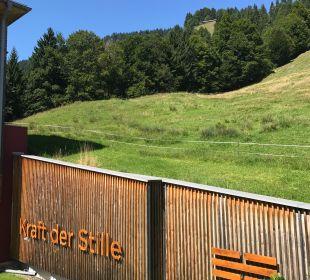Ausblick Hubertus Alpin Lodge & Spa
