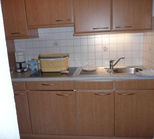 Küche Apartments Schartental