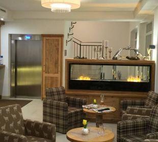 Rezeption Hotel Heigenhauser