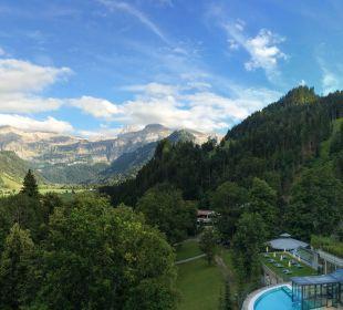 Ausblick von unserem Balkon Lenkerhof gourmet spa resort