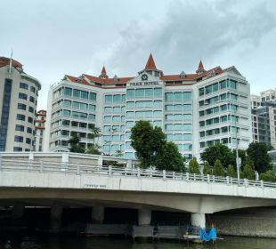 Blick zum Hotel Park Hotel Clarke Quay