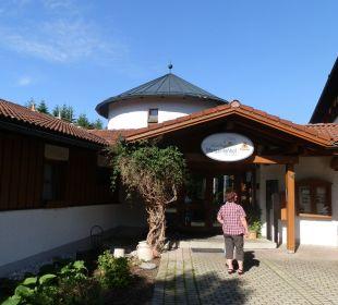 Eingang Hotel Margeritenhof