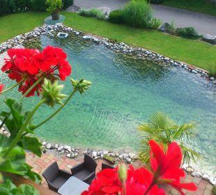 Blick vom Balkon Hotel Sunneschlössli