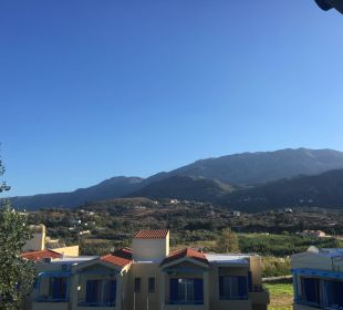 Blick vom Balkon  Hotel Corissia Princess