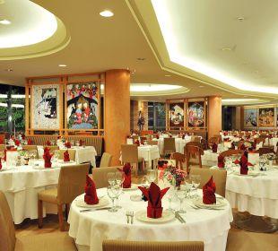 Mythos Main Restaurant Gloria Verde Resort