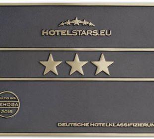 Unsere 3Sterne Hotelklassifizierung Hotel Haus Hillesheim