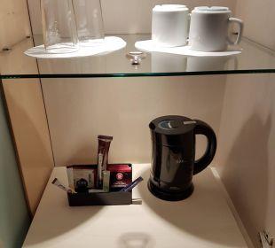 Tee küche statt minibar Hotel Dorint an der Messe Köln