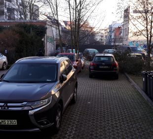 Parkplatz  Hotel Via City