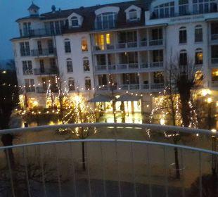 Blick vom Balkon Travel Charme Ostseehotel Kühlungsborn