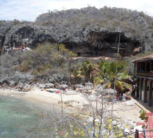 Strand mit Bar Hotel Club Amigo Bucanero (existiert nicht mehr)