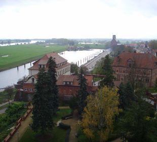 Vom Kapitelturm Ringhotel Schloss Tangermünde
