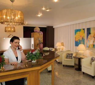 Lobby / Empfang Hotel Central Vital