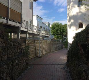 Gartenanlage Hotel Villa Gropius
