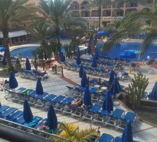 Liege an Liege, passt keine Fliege dazwischen Hotel Mirador Maspalomas Dunas