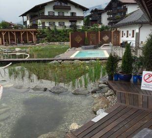 Schwimmteich Wellnesshotel Zechmeisterlehen