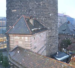 Ausblick vom Zimmer nach links Hotel Victoria Nürnberg