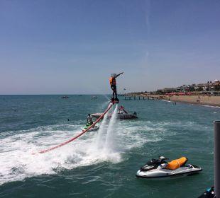 Flyboard am Hotelstrand Belek Beach Resort Hotel