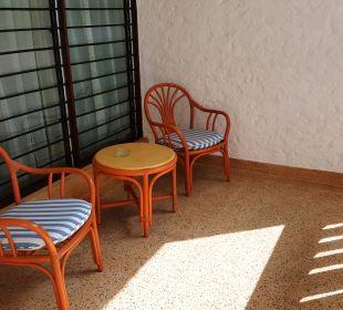 Großer Balkon Hotel Traveller's Club