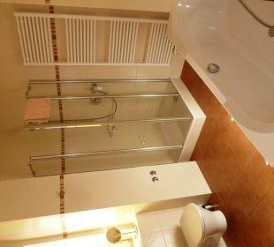 Dusche im großem Badezimmer - Suite XL im EG Villa Strandkorb Hotel Garni