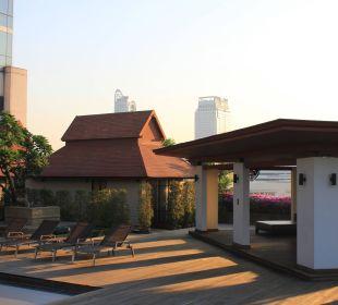 Dachterrasse Pathumwan Princess Hotel